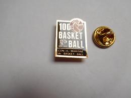 Beau Pin's , Basket , Conité Maritine ?? Comité Maritime ?? 100 Ans - Basketbal