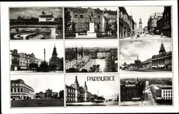 Cp Pardubice Pardubitz Stadt, Denkmal, Rathaus, Marktplatz, Park - Czech Republic