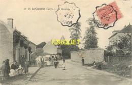 18 La Guerche, Le Gravier, Familles Dans La Rue...,  Affranchie 1905, Beau Cliché Pas Très Courant - La Guerche Sur L'Aubois