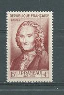 FRANCE -   Yvert  N° 947 *  J.P. RAMEAU - Neufs