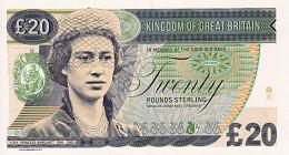Grande Bretagne 20 Pounds 2014    Margaret    UNC       ESSAI  Edition Limitée - Gran Bretagna