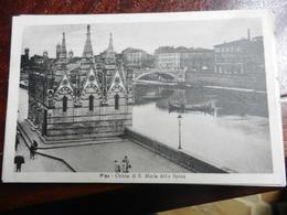 19311) PISA CHIESA S. MARIA DELLA SPINA VIAGGIATA 1927 - Pisa