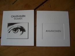 Carte Calvin Klein Women - Perfume Cards