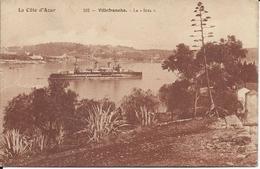 Cp 06- Villefranche Sur Mer  Bateau De Guerre Le Iéna - Villefranche-sur-Mer