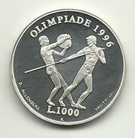 1995 - San Marino 1.000 Lire - Olimpiadi, - San Marino