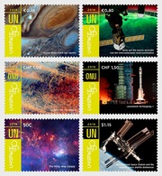 Verenigde Naties / United Nations - Postfris / MNH - Complete Set Unispace 2018 - Gezamelijke Uitgaven New York/Genève/Wenen