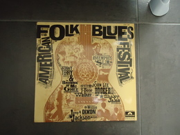 VINYL 33 T AMERICAN FOLK BLUES FESTIVAL VOIR PHOTOS - Rock