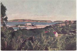 The Old Rectory, Robberg And Beacon Isle From Plettenberg Park  - (South Africa) - Zuid-Afrika