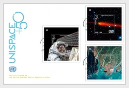 Verenigde Naties / United Nations - Postfris / MNH - FDC Sheets Unispace 2018 - Gezamelijke Uitgaven New York/Genève/Wenen