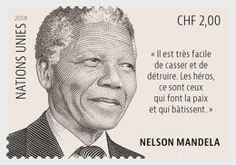 Verenigde Naties / United Nations - Postfris / MNH - Nelson Mandela Day 2018 - Gezamelijke Uitgaven New York/Genève/Wenen