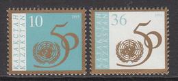 1995 Kazakhstan 50th Anniv UN Set Of 2 MNH - Kazakhstan