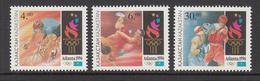 1996 Kazakhstan Summer Olympics Atlanta Set Of 3 MNH - Kazakhstan