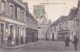 AUNEAU    RUE ROCHEFORT  LA POSTE - Auneau