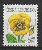 MiNr. 330 Tschechische Republik / 2002, 1. Sept. Freimarke: Blumen. - Repubblica Ceca