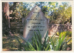 Knysna - The Grave Of George Rex  (Excile From England, Enterprising Gentleman) ,Cape Province - (South Africa) - Zuid-Afrika