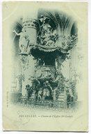CPA - Carte Postale - Belgique - Bruxelles - Chaire De L'Eglise Sainte Gudule (SV5971) - Monumenten, Gebouwen