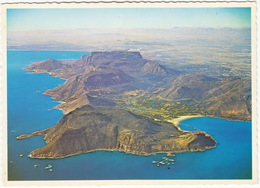 Cape Town - A Dramatic View Of The Back Of Table Mountain From The Air Off Hout Bay - (South Africa) - Zuid-Afrika