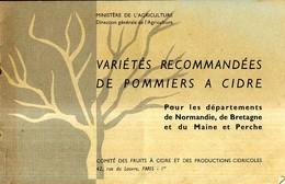 Varietes Recommandees De Pommiers A Cidre - Bretagne