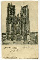 CPA - Carte Postale - Belgique - Bruxelles - Eglise Sainte Gudule - 1903 (SV5972) - Monumenten, Gebouwen
