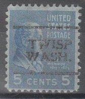 USA Precancel Vorausentwertung Preo, Locals Washington, Twisp 701 - Vereinigte Staaten