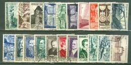 France  Année Complete 1952   Ob  TB  Voir Scan Et Description - 1950-1959