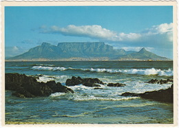 Cape Town - Table Mountain From Blouberg Strand - (South Africa) - Zuid-Afrika