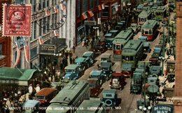 ETATS UNIS KANSAS CITY WALNUT STREET NORTH  FROM TENTH ST. - Kansas City – Missouri