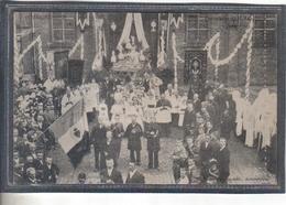 Carte Postale 59. Bois-Grenier Procession De L'Adoration 1903     Très Beau Plan - France