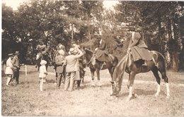 SELECTION - Lot De 6 Cartes Photos Hippisme Chevaux Course équestre Cavaliers - Animée - Voir Scans - Belle - Postcards
