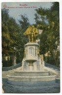 CPA - Carte Postale - Belgique - Bruxelles - Monument Des Comtes Egmont Et Hoorn - 1919 (SV5975) - Monumenten, Gebouwen