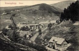 Cp Pec Pod Sněžkou Petzer Riesengebirge Reg. Königgrätz, Gesamtansicht Der Ortschaft - Czech Republic