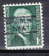 USA Precancel Vorausentwertung Preo, Locals Washington, Warden 835,5 - Etats-Unis