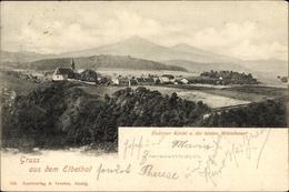 Cp ŘehloviceGroßtschochau Reg. Aussig, Dubitzer Kirchl, Mileschauer - Czech Republic