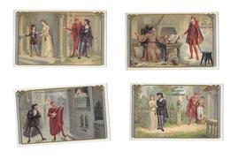 6 Chromo Romane/FAUST 1.la Vocation-2.Marguerite à L'église-3.la Séduction-4.la Sérénade-5.le Duel-6.l'Apparition De B - Tè & Caffè