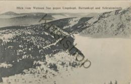 Weissen See Gegen LIngekopf, Barrenkopf Und Schratzmännle  [W 298) - Elsass