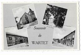 """Wartet  ( M 4528 )  """" Souvenir  De  WARTET """"  4 Vue - Unclassified"""