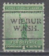 USA Precancel Vorausentwertung Preo, Locals Washington, Wilbur 701 - Vereinigte Staaten