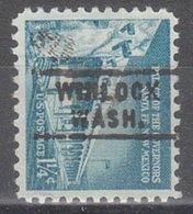 USA Precancel Vorausentwertung Preo, Locals Washington, Winlock 743 - Vereinigte Staaten