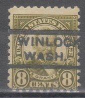 USA Precancel Vorausentwertung Preo, Locals Washington, Winlock 589-L-1 HS Better Stamp - Vereinigte Staaten