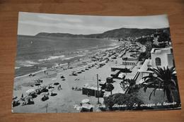 3591  Alassio Spiaggia Da Levante - Italië
