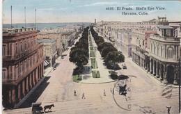 CUBA, HAVANA, El Prado. Bird's Eye View - Postcards
