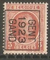 Gent 1923 Nr. 80B - Préoblitérés