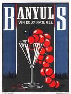 "0233 ""BANYLUS - VIN DOUX NATUREL"" ETICHETTA ORIG. - Etichette"