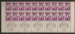 Bloc De 20 Timbres Armistice Sur Le Front D'orient N°1571 (bord De Feuille, Oblitération 1er Jour Dans La Marge) - Frankreich