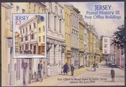 Jersey 2009 Bloc 96 *** MNH Cote 13 Euro Post Office Buildings - Jersey
