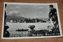 3596  STRESA  LAGO MAGGIORE   ISOLA BELLA - 1953 - Italia