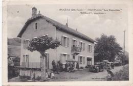 Bogève. Pensio Hotel Les Capucines. Périllat Propriétaire - France