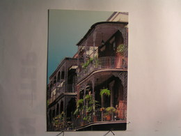 Lace Balconies - St Peter Street, Near Jackson Square - Etats-Unis
