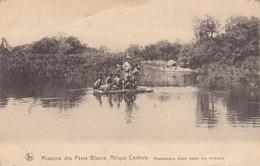 Missions Des Pères Blancs, Afrique Centrale - Missionnaires Allant Visiter Ses Chrétiens - Postcards