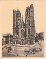 Chromo Brussel St-Gudulakerk  (reeks Ken Uw Land) - Chromos